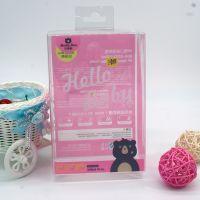厂家定制奶瓶包装盒pvc透明盒彩色折盒