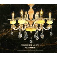 欧式吊灯客厅灯大气水晶吊灯餐厅吊灯简欧卧室灯锌合金灯具灯饰