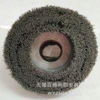 去毛刺毛刷盘 抛光圆盘刷 碳化硅氧化铝磨料丝 可定制 厂家直销