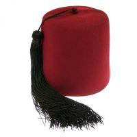 酒红色羊毛菲斯帽 wool Fez cap / 土耳其羊毛帽 Turkish wool cap