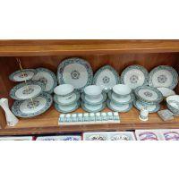 中式陶瓷餐具 简约描金陶瓷餐具礼品