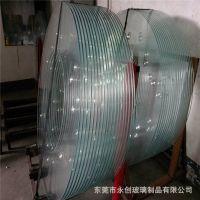 家具玻璃厂 定制加工 火锅台面 酒店圆桌 网吧电脑桌面钢化玻璃