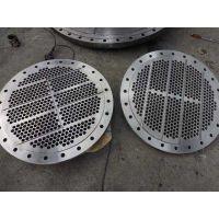 批发 列管器管板 冷凝器碳钢管板 大口径管板价格便宜