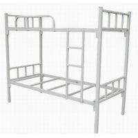 双层铁架床宿舍学生铁床上下铺员工公寓高低床可批发供应