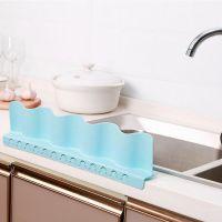 洪客 吸盘式水池挡水板创意厨房小用品 家用水槽防溅水隔水挡板