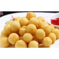 香脆土豆饼油炸机便宜又好用 尚品土豆球生产油炸设备