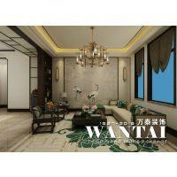 泰安万泰装饰山和院子800m²别墅新中式风格装修—设计师翟帅