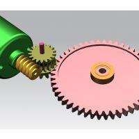 吸扫拖一体机静音齿轮箱设计_大扭力高效率轻易去除污渍,塑料减速箱GEAR