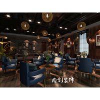 合肥咖啡厅装修设计,薄荷绿等塑造浪漫