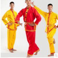 男式秧歌服装龙灯成人民族服装打鼓舞龙舞蹈演出服装腰鼓服装武术