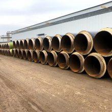 室外暖气保温管道厂家施工 预制高温复合聚氨酯保温管