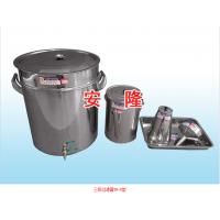 太和牌 三级过滤油桶/油壶/漏斗不锈钢套装 润滑油过滤器TH-5型