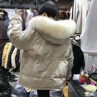 杭州年底大量羽绒服棉袄亏本清仓低价地摊女士棉服长款外套中长款呢子大衣低价批发
