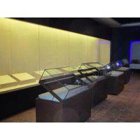 隆城展示博物馆展示柜设计生产基地
