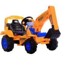 儿童电动挖掘机可坐可骑大号 新款宝宝挖土机2-3-6岁 男孩工程车