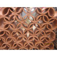 花窗瓦、花墙瓦厂家供应:天津花窗瓦、天津花墙瓦-园林造型专用瓦