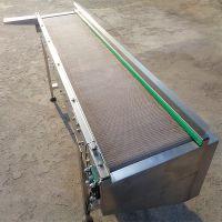 挡板网带输送机批量加工 水平直线输送
