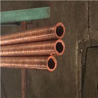 T2国标螺纹紫铜管 定做半圆厚壁紫铜管 挤压异形紫铜管 质量保证