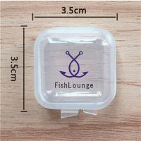 批发高透明塑料小方盒 新料耳塞盒 收纳盒 鱼钩盒 迷你小盒子