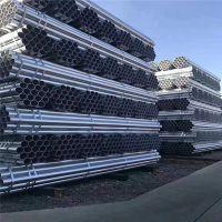镀锌钢管_镀锌管钢管sc100水管大棚空心镀锌圆管6米铁管4分120线管dn50