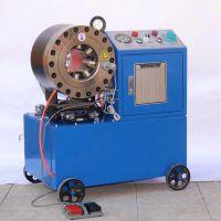 振鹏新坐标机械脚手架钢管扣压机 不锈钢液压缩管机 380V/220V可选 功率3KW