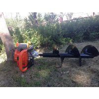 方便型挖坑立柱打孔机 宇晨植树栽种挖窝机 小直径打坑机厂家