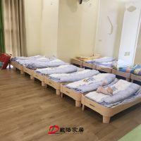 厂家直销早教中心幼儿园木质环保小床1件起批
