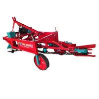 厂家直销花生收获机四轮车带拔果机条铺摆放花生收割机挖果机