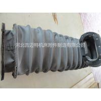 厂家供应磨床阻燃防护罩 液压油缸伸缩保护套 圆形防火软管