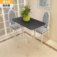 简易折叠饭桌4人2小方桌吃饭桌长方形餐桌家用正方形简约四方桌子