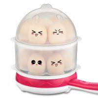 克美帝双层电煎锅煎蛋器 煮蛋器 蒸蛋机 1-14个蛋 不粘锅