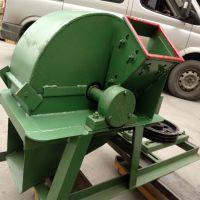小型锯末粉碎机 多功能木材废料板条粉碎机 苹果树圆盘削片机 1