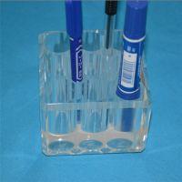 压克力方块加工高档有机玻璃透明展台亚克力工艺品摆放架展示架