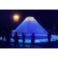 河南郑州灯光展策划 梦幻灯光节制作 灯光造型价格