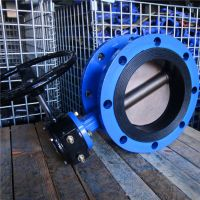 1米蜗轮软密封蝶阀D341X-16Q DN1000蝶阀的结构原理尤其适合制作大口径阀门