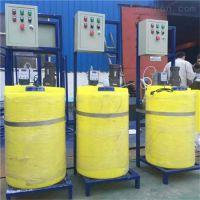 黄石2000L复配罐生产_10吨PE平底加药桶