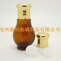 沧州康纳热销小巧葫芦状精油玻璃瓶