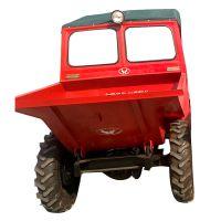 砂浆运输用自卸四轮车 多种规格前卸式翻斗车 新型拉蒜苗用的四轮蹦蹦车