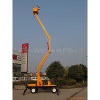 供应GKT-10.5柴油机升降平台 10.5米路灯用液压旋转360度升降机
