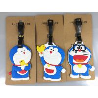 Doraemon 哆啦a梦公仔手办 伴我同行 蓝胖子 机器猫 行李牌挂件