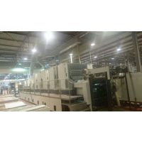 2003年小森L544+L五色加过油印刷机