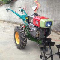 兰州手扶拖拉机 汽油旋耕机 优质手扶车耕地机