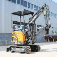 配置升级小型挖掘机 1.8吨农用微型挖掘机工作视频 小勾机型号大全