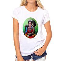 夏季热卖弗里达·Frida KahloT恤2016潮流外贸女式莫代尔T恤