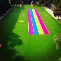 地面仿真草坪 3cm高人造草坪 人工假草皮做法