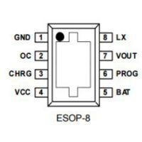 供应嘉泰姆驱动IC CXLB7463移动电源负载检测DC升压限流,涓流恒流恒压充电充电空载检测关断