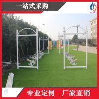 上海聚巧厂家定制户外拓展大型攀爬网桥