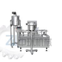ZLS-300旋转式卡式瓶灌装封盖机