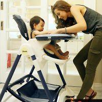 Pouch欧式婴儿餐椅儿童多功能宝宝餐椅可折叠便携式吃饭桌椅座椅