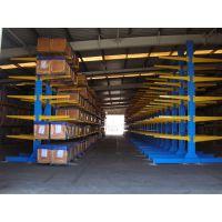 仓库车间悬臂式货架 圆管铁管悬臂式存放架 双悬臂重型承重式货架